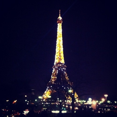 france, lights, night, paris, tower