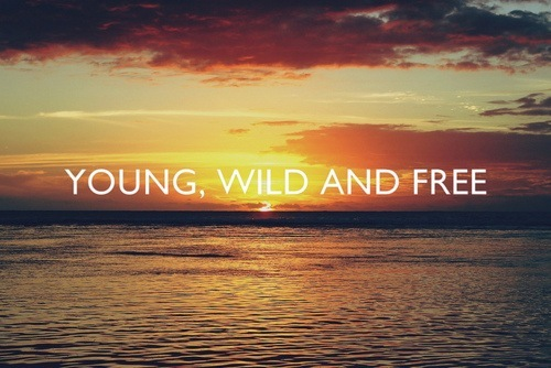 free, sea, sky, wild, words, young