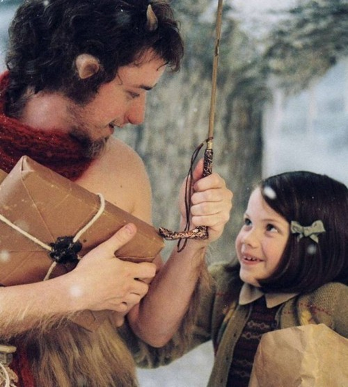 georgie, movie, narnia, tumnus