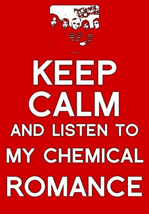 gerard way, keep calm, listen, music, my chemical romance