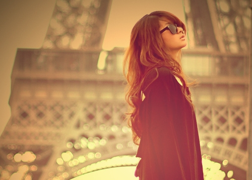 girl, glasses, paris