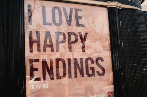 happy, happy endings, love, movie, text