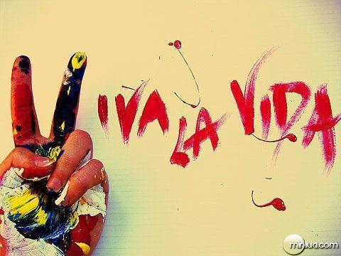 happy, life, live, love, paint, pretty, vida, viva