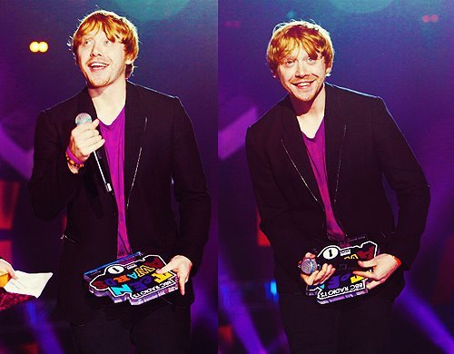 harry potter, redhead, rupert grint, teen choice awards