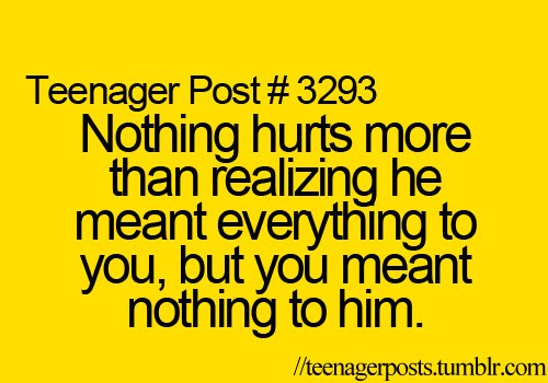 Teenage Quotes About Love And Heartbreak : heartbreak, love, post, teenage, teenager - image #405532 on Favim.com