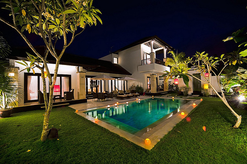 home, house, luxury, pool