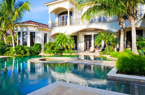 house, large, luxury, mansion