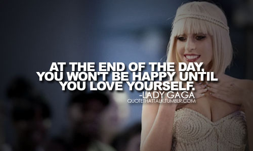 lady gaga quotes about love - photo #3