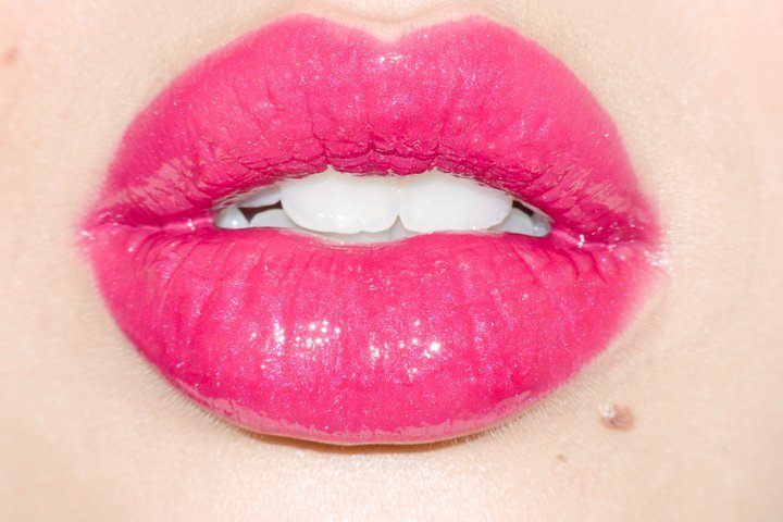 lips, make up, pink, tooth