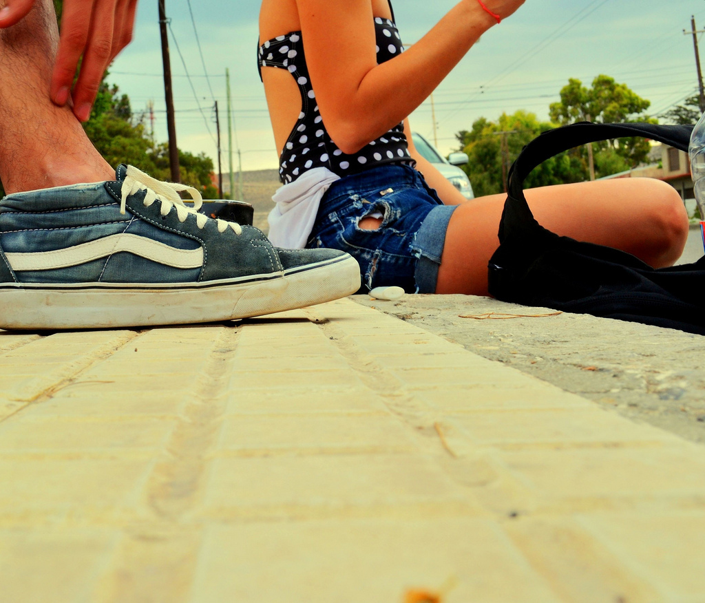 old school, pretty, shoes, skate, summer