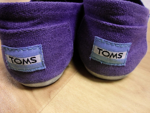 one for one, shoes, toms