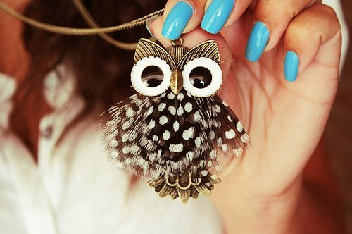 *-*, awesome, beautiful, blue, eyes, h&m, nail, nick, nicklees, owl, perfect, white