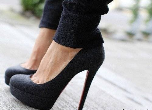 *-*, beautiful, black, cool, heels