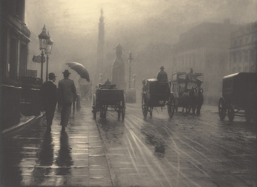19th century, ancient, london, love, old, rain, vintage