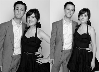500 days of summer, b&w, black and white, joseph gordon-levitt, smile