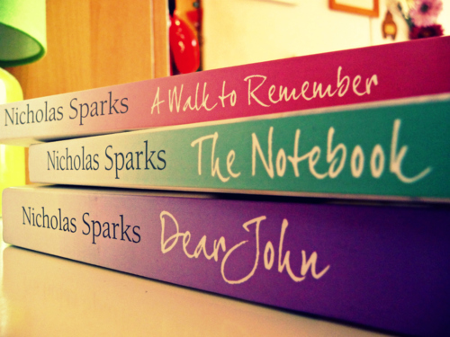 a walk to remember, books, love, nicholas sparks, the notebook