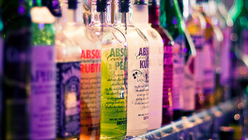 absolut, alcohol, alkohol, bar, daniels