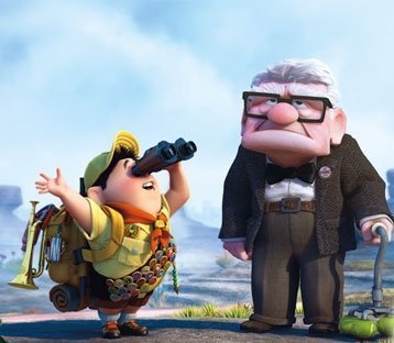 abuelo, animation, awsome, boy, carl, cine, cinema, cool, disney, explorer, films, fun, grandpa, kid, lucy, movies, nice, pixar, russell