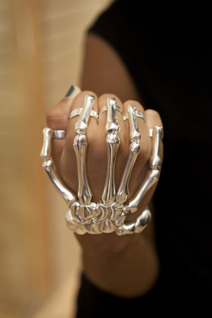 accessories, accessory, bones, fashion, fingers, hand, skeleton