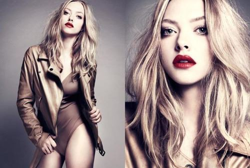 actress, amanda seyfried, beauty, red lips