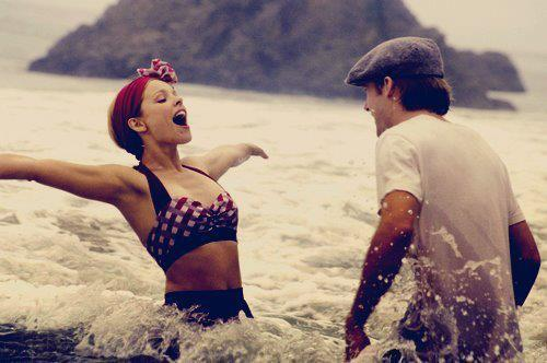 adorable, allie, couple, funny, girl, movie, noah, sea, the notebook