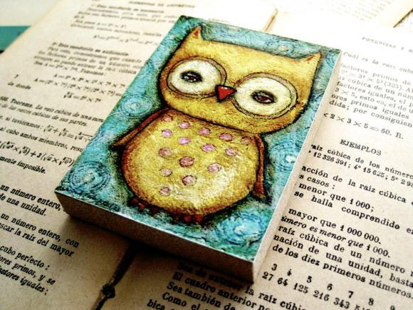 adorable, art, beautiful, craft, cute, gift, girl, handmade, love, owl, pretty, shopping, valentine