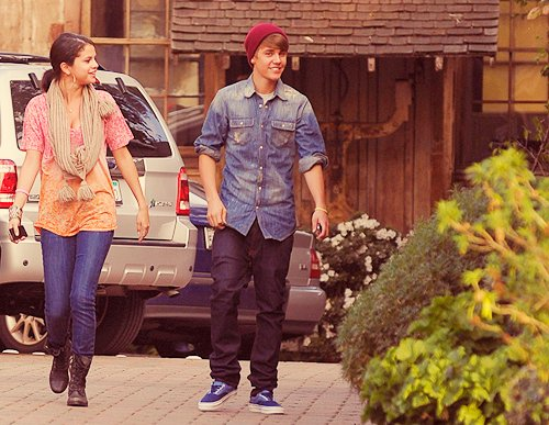 adorable, boy, couple, cute, fashion, girl, justin bieber, love, selena gomez