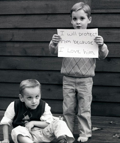 adorable, brothers, cute, exemple, love