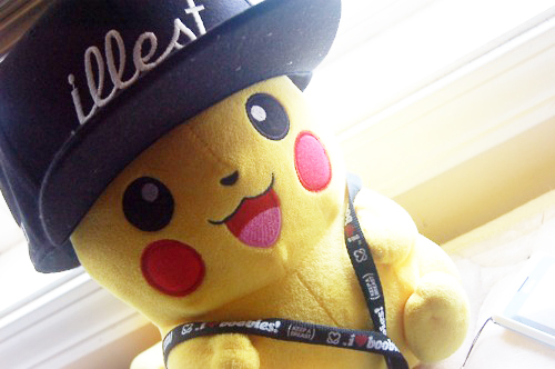 adorable, cute, dope, i heart boobies, illest, para pambam, pikachu, pokemon, snapback, swag