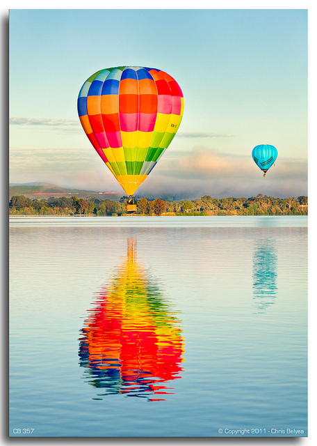 air, ballon, ballons, balloon, balon, baloon, beautiful, blue, colors, colours, cute, green, hot, hot air balloon, orange, photo, photography, picture, pink, rainbow, red, sky, yellow
