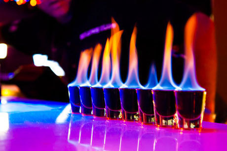 alcohol, bar, color, colorful, fire