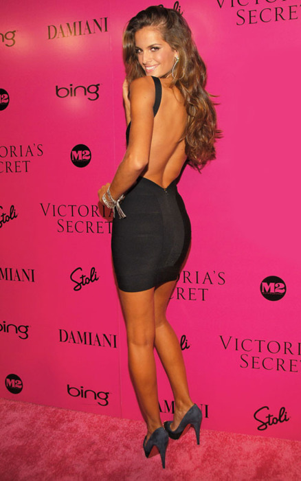 alessandra, alessandria ambrossio, ambrosio, angel, angels, beautiful, black, brunette, cute, dress, fashion, izabel goulart, long hair, pink, pretty, secret, skinny, style, tan, tanned, victoria, victorias, victorias secret