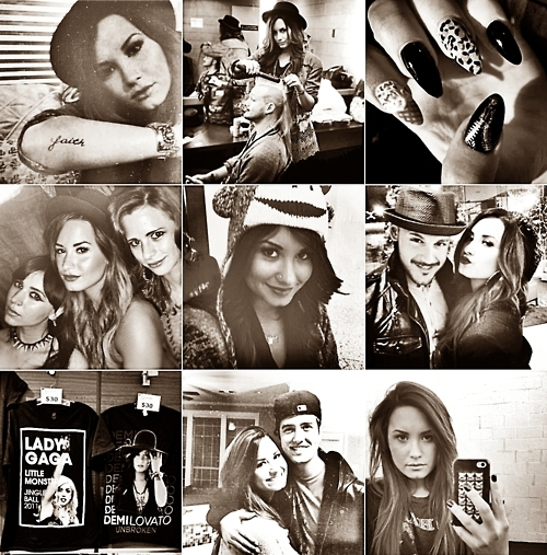 all about demi, black and white, demi lovato, lovatics