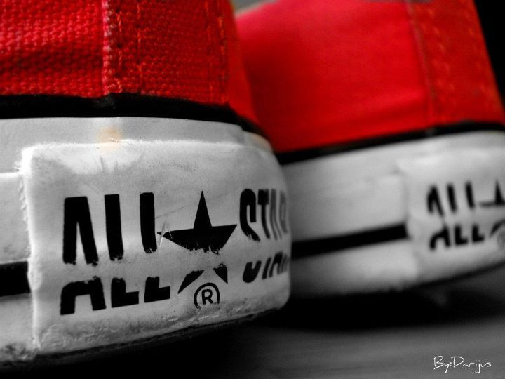 all star, black, converse, fashion, red