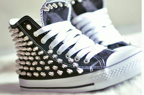 allstars, beauty, charm, fashion, nit, shoe, shoes, studs