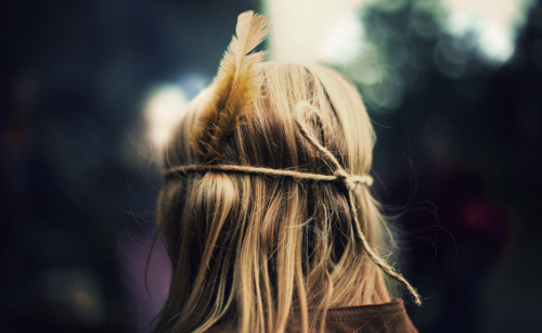 alone, blonde, cute, girl, hairs