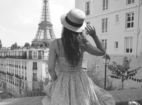 alone, build, fashion, french, girl