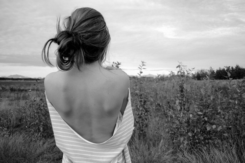 alone, girl, thin, thinspiration, thinspo