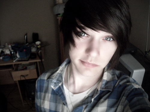 alternative, boy, cute, emo, gray eyes