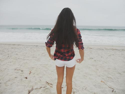 amaizing, beach, beauty, blue, girl, hair, pictures, red, white