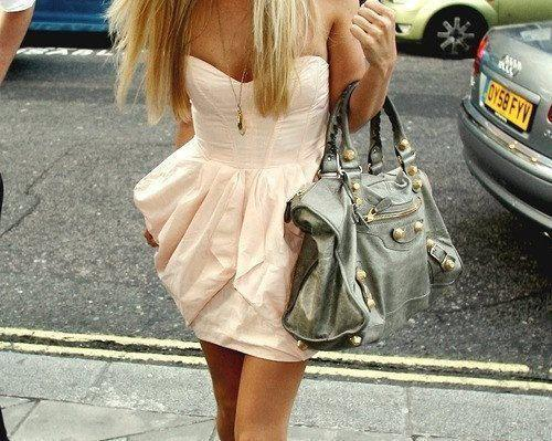 amazing, bag, beautiful, cute, dress, girl, nice, pink, pretty