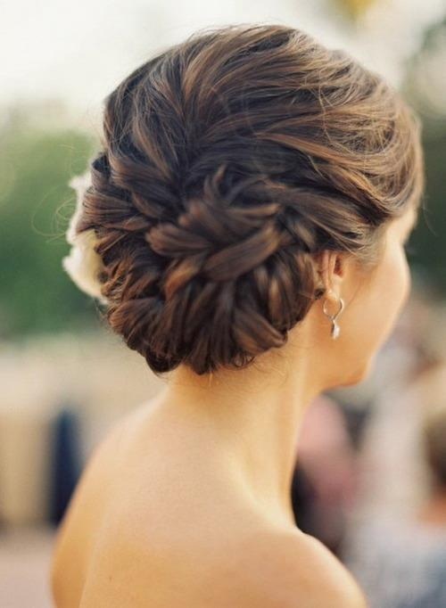 amazing, beautiful, braid, braided bun, braided knot, bun, celebrity, chic, chignon, earings, elegant, fashion, girl, knot