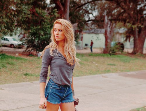 amber heard, blonde, damn, girl, hot, model, sexy, shorts, summer, top