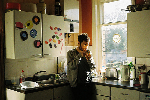 analog, beard, beautiful, boy, cute, grain, hipster, indie, tea