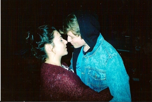 analog, boy, couple, cute, fashion, girl, hipster, indie, kiss, party