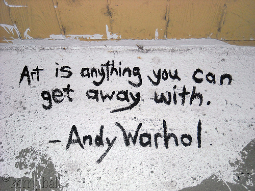 andy warhol, art, quote, text - image #423914 on Favim.com