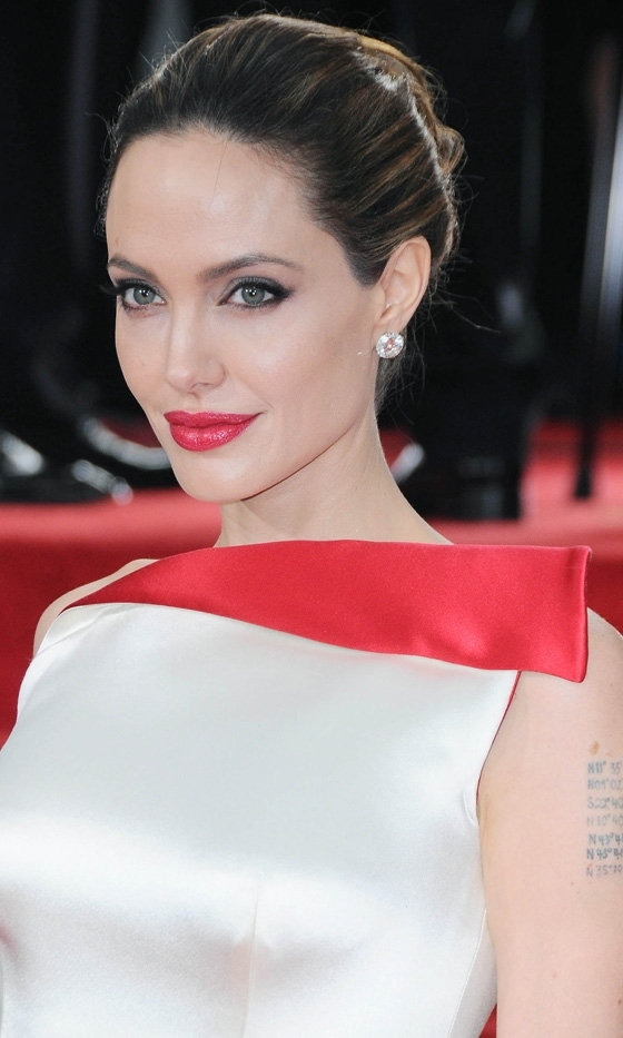 angelina jolie, atelier versace, diamonds, fashion, golden globes