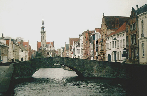 architecture, bridge, city, water