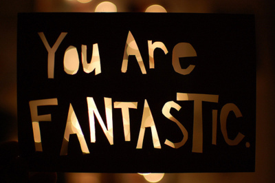 are, fantastic, light, text, you