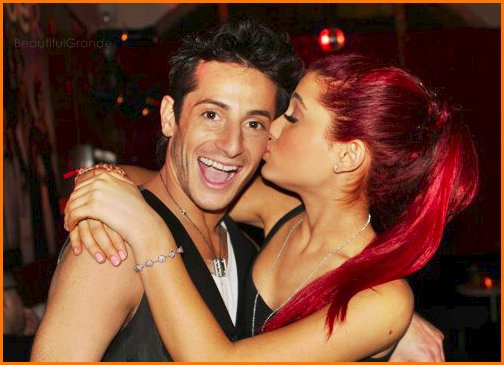 ariana grande, brother and sister, frankie grande